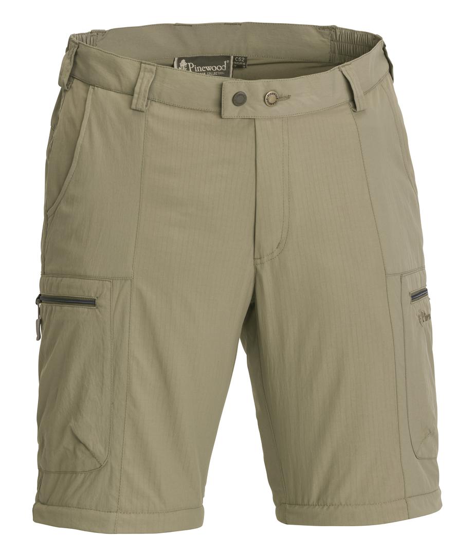 Pinewood Shorts Namibia Shorts Mid Khaki, C 50  | Billig ideal
